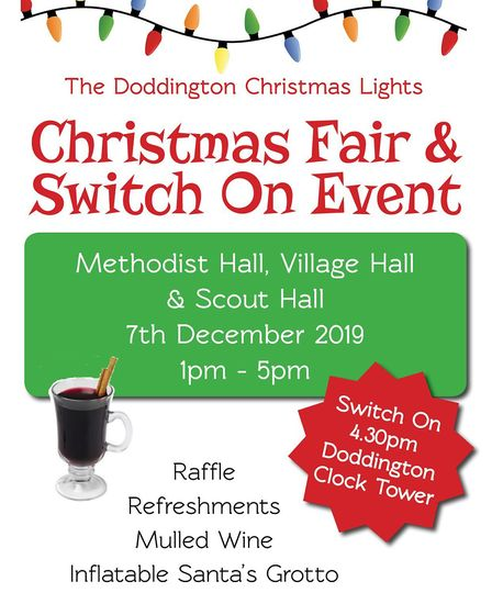 This year's Doddington Christmas Lights switch-on takes place on Saturday, December 7. Picture: Supp