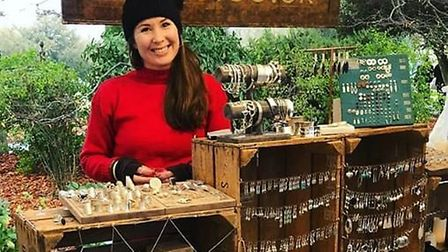 Ely Markets to host crafts, food and vintage markets this Christmas. Hannah from Oriolo Jewellery is