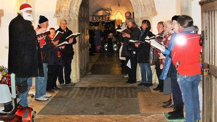 The light festival at St Andrew's Church in Isleham takes place on Saturday, December 7 and Sunday,