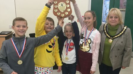 Students from Park Lane Primary School have been crowned 'sports quiz superstars' by Whittlesey Spor