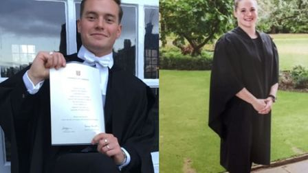 Handout file photo issued by Metropolitan Police of a composed image of (left) Jack Merritt, 25, of