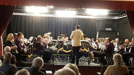 Littleport Brass entertained members of The Littleport Society at its December gathering. Picture: C