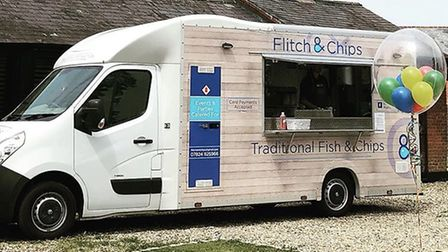 The Flitch and Chips van is a regular site in Dunmow. Picture: INSTAGRAM