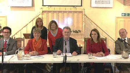 All four candidates for South East Cambridgeshire faced off in a lively hustings at Waterbeach that