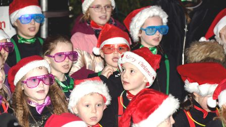 Hundreds of people lined the streets of Doddington on Saturday night as the village came together fo