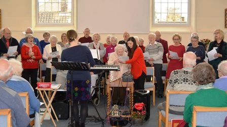 Members of Ely's Sing! Choirs had a busy weekend as they performed two concerts in the city. One was