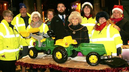 A stunning display of Christmas trees at the Whittlesey Extravaganza marked the start of the festive