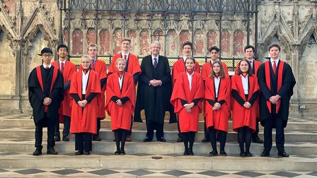 Meet the scholars! Twelve King's and Queen's Scholars were announced at an Ely Cathedral ceremony. P