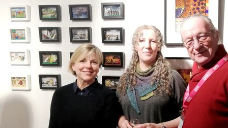 Babylon Arts's volunteers, staff and trustee's came together to celebrate its history. Ali Atkins, L