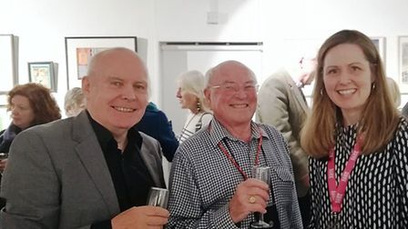 Babylon Arts's volunteers, staff and trustee's came together to celebrate its history. Brian Watson,