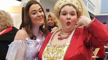 The Littleport Players Christmas pantomime 'Sleeping Beauty'. Pictured are Good Fairy Lilac (Erin Ma