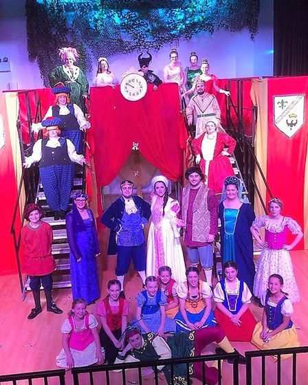 When The Littleport Players performed their Christmas pantomime 'Sleeping Beauty there were standing