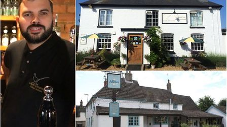 Hoax bookings at two pubs in East Cambridgeshire are 'crippling' business says owner Calvin Holland.