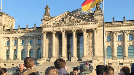 Witchford history pupils visit Berlin for three-day cultural visit. Picture: JO GORDON