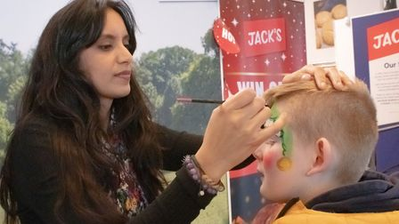 Reindeers bring festive cheer to Jack's at Christmas celebration event. Picture: FULL VOLUME PR