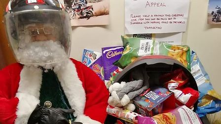 AAA Motorcycle Training School has decided not to send out Christmas cards and will donate to charit