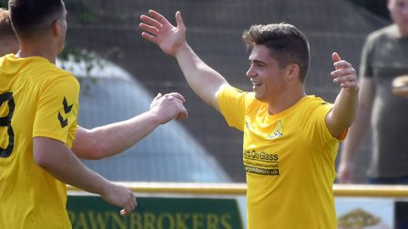 Top scoer Jack Friend sealed victory for March Town against Norwich CBS. Picture: IAN CARTER