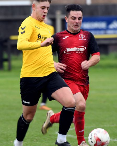Jack Rawson set March on the way to victory over Norwich CBS with the opening goal. Picture: IAN CAR