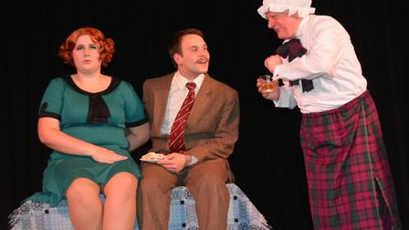 Viva Soham's production of The 39 Steps is live theatre at its best. Picture: MIKE ROUSE