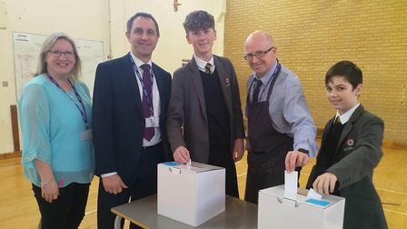 Ely College students were given the opportunity to have their opinions heard at the ballot box durin