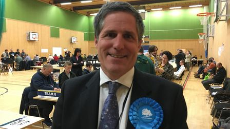 Conservative Anthony Browne won in South Cambridgeshire and recaptured the seat for his party after