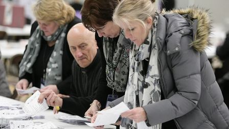 General Election 2019: The count at Wisbech