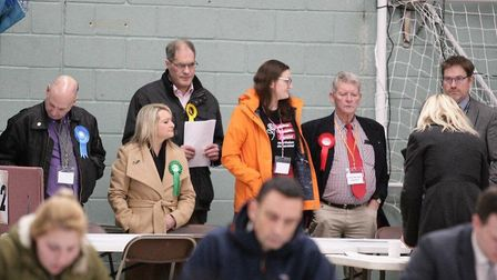 General Election 2019: Awaiting the result at Wisbech