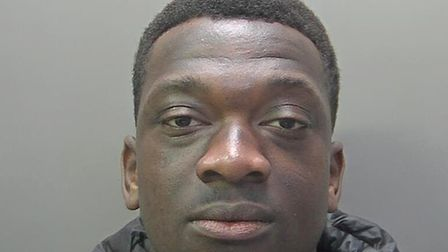 Ismael Coulibaly, 20, confronted the victim in an alleyway near Tirrington, in Bretton, Peterborough