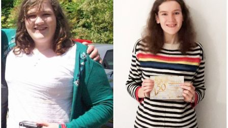 'My smile is real now' - Slimming Soham teen scoops award after losing 11 stone. Picture: SLIMMING W
