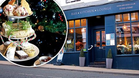 The perfect Christmas treat for couples, friends and families, 11a's festive afternoon tea is a tast