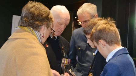 Heligoland 39 project team mark 80 years since battle at emotional commemoration. Picture: MIKE ROUS