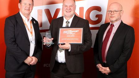 John Wroe. The winners were crowned at the Living Sport Awards on Thursday, November 28 at Burgess H