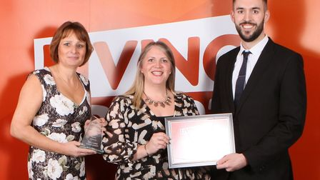 Ditton Lodge School. The winners were crowned at the Living Sport Awards on Thursday, November 28 at