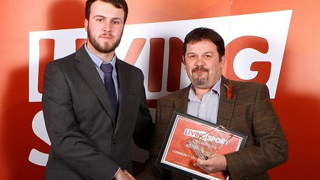 Jonathan Evans. The winners were crowned at the Living Sport Awards on Thursday, November 28 at Burg