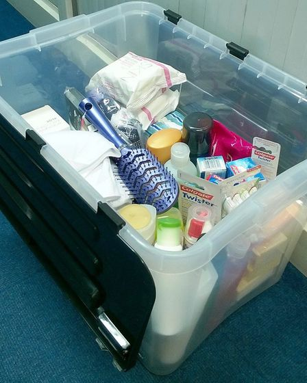 Essentials by Sue is a discreet service which is funded entirely by donations from the public and me