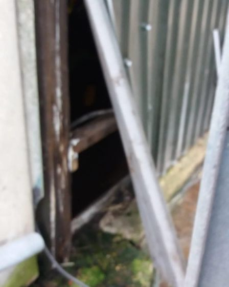 Thousands of pounds worth of Christmas meat has been stolen after thieves raided a farm in Isleham.