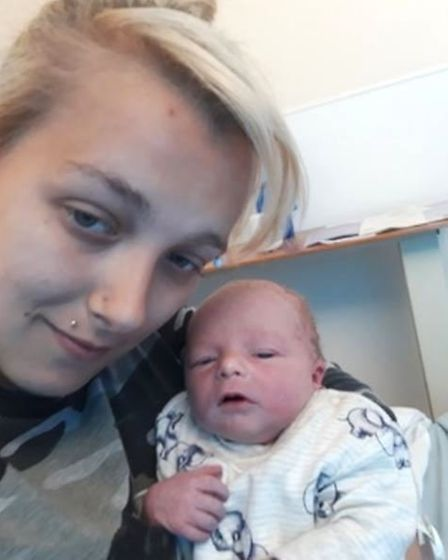 Baby born weighing 5lb 9oz born in Beales department store in Wisbech yesterday (Thu) at 2pm. The ba