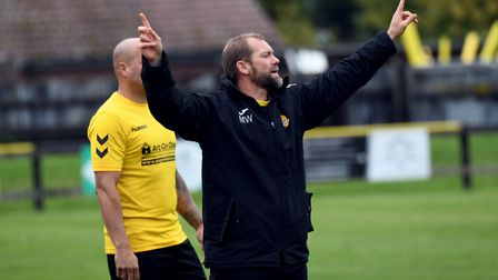 MANAGEMENT: The management team of Whaley, Chris Lenton and the addition of Arran Duke have proven t