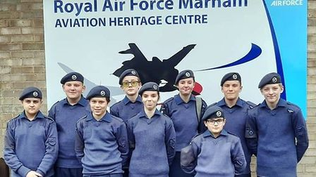 Members of the 1094 Ely Squadron visited RAF Marham and were given a VIP tour of the station. Pictur