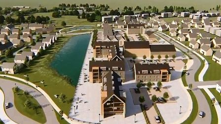 Soham Eastern Gateway: The development will provide up to 540 homes, including affordable housing, a