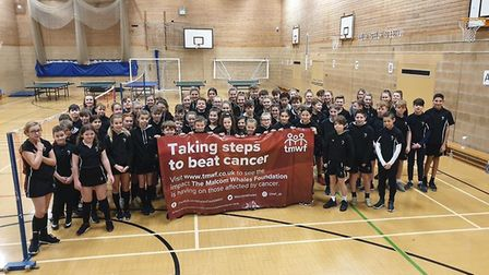 Pupils raise more than £13,000 for charity in 12 hour sports marathon. Picture: MWF FACEBOOK