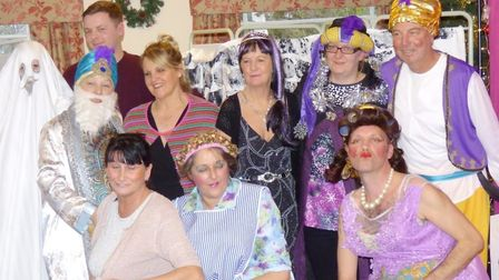 Oh yes they did impress residents – an annual care home pantomime brought lots of laughs in Chatteri