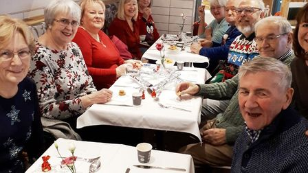 The team at the Ely McDonald's restaurant on Downham Road hosted a VIP dining event in support of A