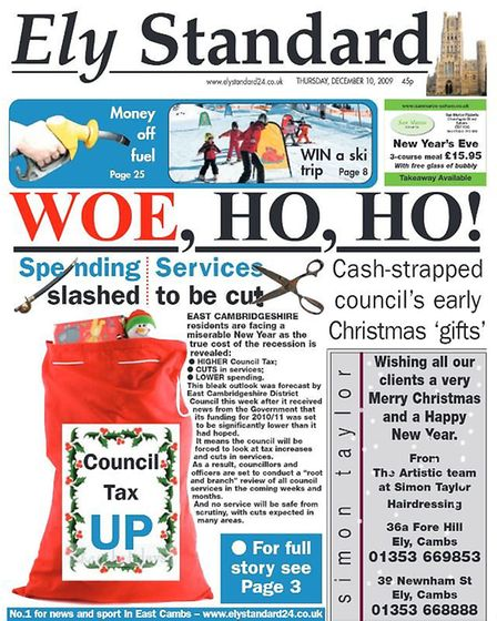 The Ely Standard in 2009.