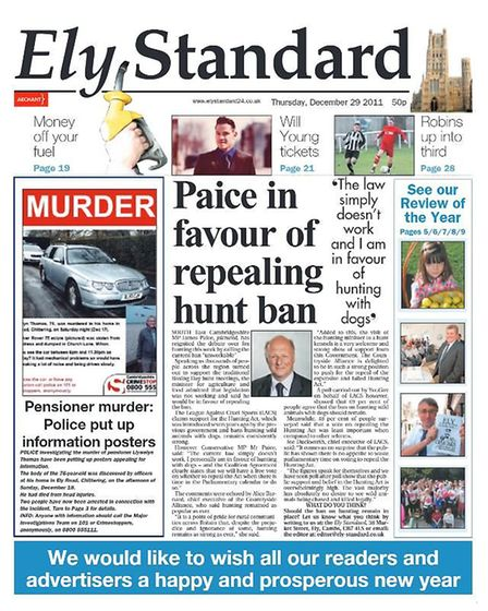 The Ely Standard in 2011.