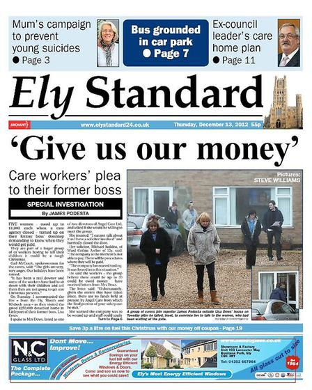 The Ely Standard in 2012.