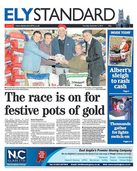 The Ely Standard in 2013.