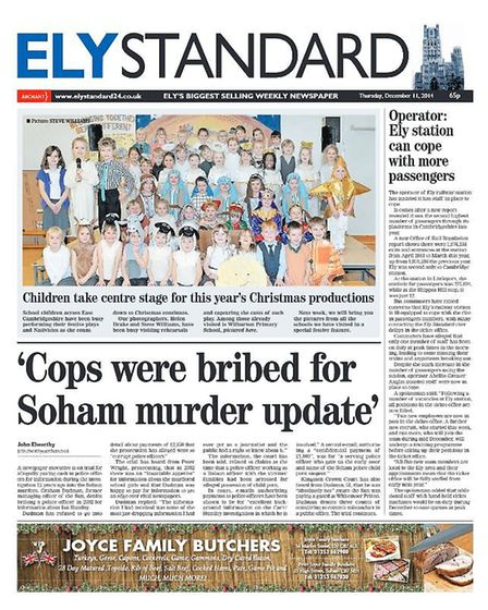 The Ely Standard in 2014.