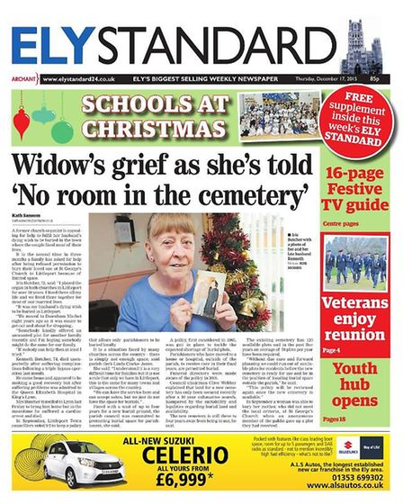 The Ely Standard in 2015.