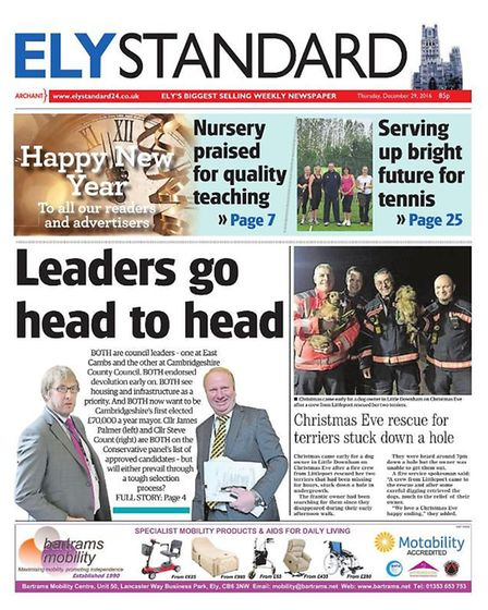 The Ely Standard in 2016.